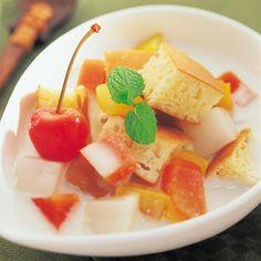 アジアン風ホットケーキ - デザート - レストラン -商品レシピ- | マリンフード株式会社