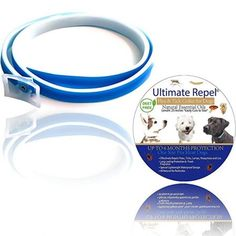 Pet Flea and Tick Collar – Dogs and Puppies Natural Adjustable Waterproof Prevention up to 6 Month Protection Essential Oils Blue 25 Inches Pest Control Fits Small, Medium and Large by Ultimate Repel Dog Flea Treatment, Tick Control, Pest Control, Flea Remedies, Flea Shampoo, Flea Spray, Spoil Yourself, Dog Eyes, Necklaces