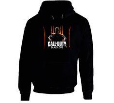 New Call Of Duty Black Ops 3 Games Black Hoodie
