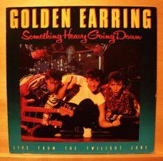 GOLDEN EARRING - Something heavy going down - Vinyl LP - Twilight Zone - RARE