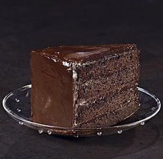 Southern Devil's Food Cake from Fine Cooking. Deep, dark chocolate heaven!!