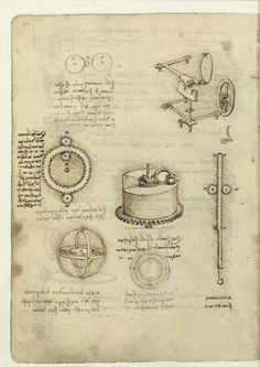 Leonardo da Vinci, Codex Madrid I.