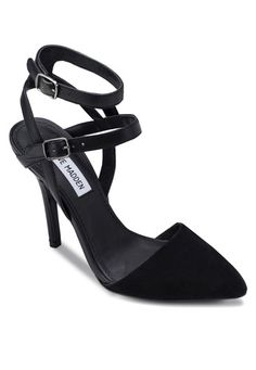 PORTTT Pointy Heels With Ankle Strap