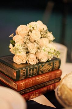 I loved my literary wedding!  Photo by Betsy!