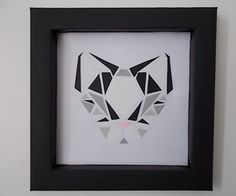 Perhaps you could call this a spin-off of my other project, 3D Geometric Art, but this was my gift for a cat-loving friend. I wanted to make somethi...