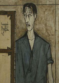 Bernard Buffet: Portrait of the Artist, 1949