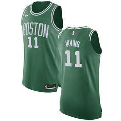 81083a4599f Nike Celtics  11 Kyrie Irving Green NBA Authentic Icon Edition Jersey  Jayson Tatum