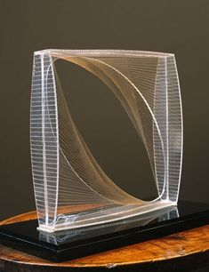 naum gabo's 'linear construction in space no. 1'