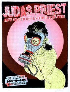 judas priest concert posters   Judas Priest