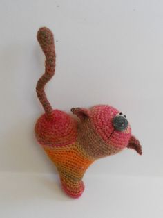 Ravelry: project by aniston31's Cat Heart LittleOwlsHut crochet pattern was used to make this cat
