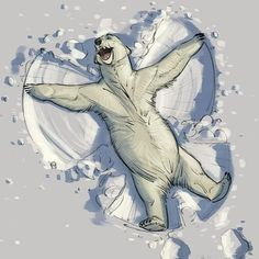 Wishing you all happiness today! #happy #polarbear #snowbear