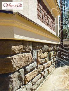 White Hills Verblendstein Serie Dunvegan 505-40 (Steinsockel) - White Hills facing stone Brick, Stairs, Stone, Home Decor, Art, Pedestal, Basement, Art Background, Stairway