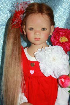 Лиле, летнее насторение. Коллекционная кукла от Anette Himstedt / Коллекционные куклы Annette Himstedt / Бэйбики. Куклы фото. Одежда для кукол