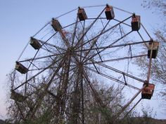 These 17 Photos From West Virginia's Abandoned Amusement Park Will Creep You Out