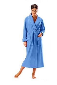 Photo 2 of Pink/White Ladies Towelling Dressing Gown | towelling ...