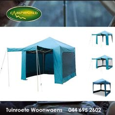 This Gazebo is called the Instant Zip-a-Zebo, it has a durable aluminum framework, waterproof fabric and zip off walls! Gazebos make camping fun because you can do so much with the covered space. #outdoorliving #camping #lifestyle