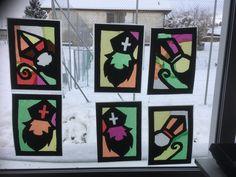 Saint Nicholas, School, Drawings, Frame, Christmas, Kindergarten, Teacher, Drawing Sheet, Crafting