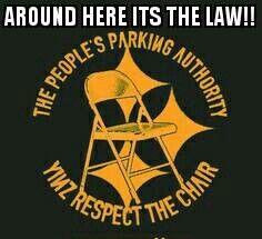 Find somewhere else to park ya jagoff