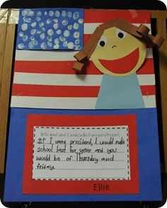Great first grade Presidents Day/Election Year unit on voting and running for president.