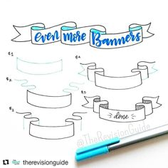 """809 Likes, 3 Comments - Apsi's visual notes & doodles (@therevisionguide) on Instagram: """"Repost for #TheRevisionGuide_52wvv #52wvv_week10 ・・・ The banner doodles are not over yet 🎉🎉🎉 hope…"""""""