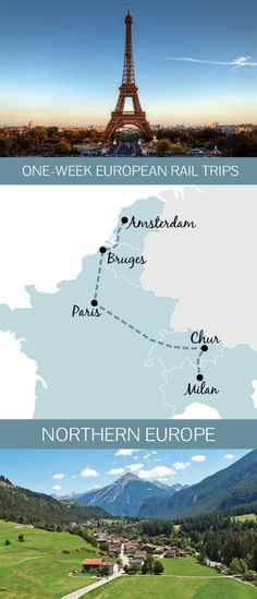 You don't need months to spare to see Europe by train – a one-week Northern European rail itinerary from Amsterdam to Milan
