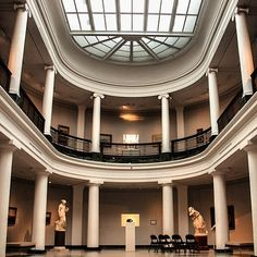 The University of Michigan Museum of Art is as beautiful in its architecture, as it is in art! Plus, it's free!