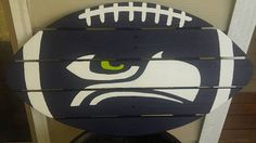 Washington State Seahawk sign made from by MonicasFavThings