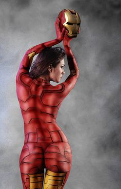 Sexy Ironman #Cosplay #sexy #cosplay