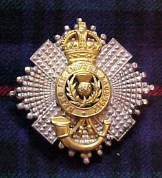The 4th/5th Bn The Royal Scots Officers Pouch belt plate.