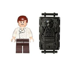 LEGO Star Wars Minifigure Han Solo with Carbonite Piece * To view further for this item, visit the image link.