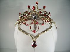 Red Ruby Headpiece
