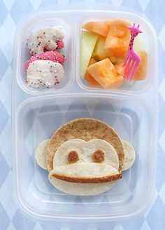 lunch, kids lunch, kids, children, zoo lunch, zoo, monkey, bento box