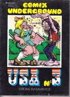 COMIX UNDERGROUND USA Nº 3 - Foto 1