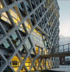 Atlas gebouw, onderzoekscentrum, Wageningen Rafael Vinoly Architects, Van den Oever Zaaijer & Partners Architects