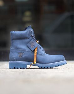 3747e113db060b Timberland 6 IN PREM Boot - Navy Mono Sock Shoes