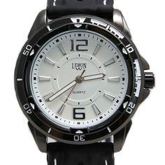 FW849Mホワイトブラック時計のケース水はシリコーンブラックバンドファッションウォッチレジストダイヤル