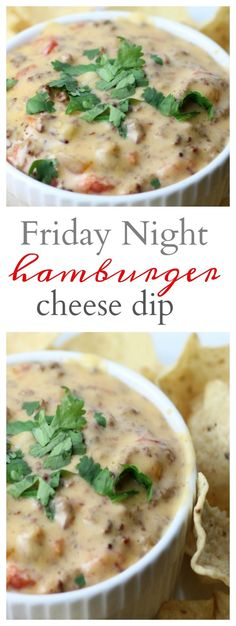 Friday Night Hamburger Dip Do you want the perfect Super Bowl Hamburger dip (or just a great Friday Night recipe) to make for your family or friends is this delicious Hamburger Dip. It's loaded with cheese, tomatoes, hamburger and Hamburger Dip, Dip Recipes, Easy Dinner Recipes, Beef Recipes, Dinner Ideas, Recipies, Party Recipes, Yummy Recipes, Snack Recipes