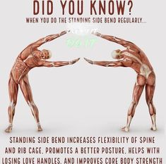 Did you know? #Standingyogapose #sohamyogmission #yogaposes #sidebend #healthyyou