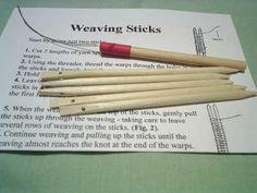 a weaving sticks kit