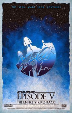 'Original Star Wars Trilogy' by Daniele Rossini