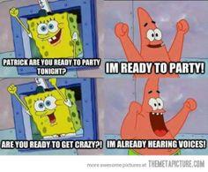 Ready to party tonight?