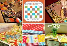 Pretty, Pretty Patchwork: Linens links to tutorials for 5 different ideas