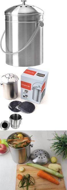 other composting and yard waste 24 gal waste food odor eliminator compost composting bin carrier bucket kit u003e buy it now only on u2026