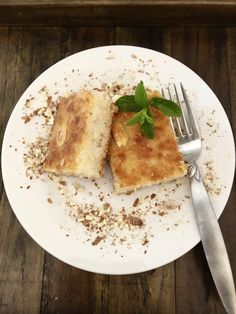 Harisseh - Sweet Dessert with Farina هريسة - Palestine in a Dish Palestine Food, Sweet Desserts, Dessert Recipes, Middle Eastern Recipes, Easy Food To Make, Sweets, Dishes, Ethnic Recipes, Gummi Candy