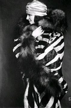 virginia rappe cica 1920 - someone please design this today...