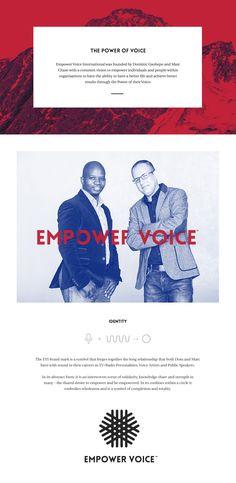 Empower Voice International on Behance