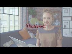 """Découvrez la #Vidéo de Bienvenue sur #Pinterest !"""""""