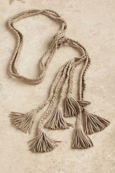Suede Tassel Tie from Soft Surroundings