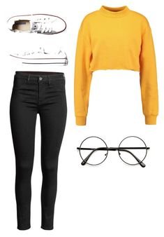 """Untitled #11"" by alaninaissant on Polyvore featuring Converse"