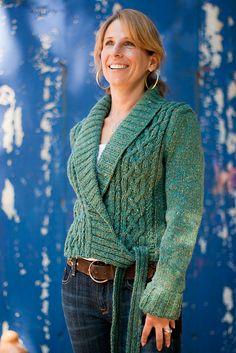 Ravelry: Collins pattern by Thea Colman; beautiful side tie
